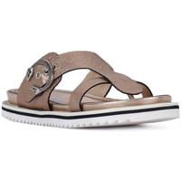 Pantofi Femei Sandale  Elvio Zanon SANDALO CRACKEL Grigio