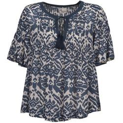 Îmbracaminte Femei Topuri și Bluze Stella Forest ANNAICK Ecru / Albastru