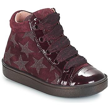Încăltăminte Fete Pantofi sport stil gheata Acebo's MASSA Roșu-bordeaux