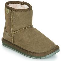 Pantofi Fete Ghete EMU WALLABY MINI Kaki