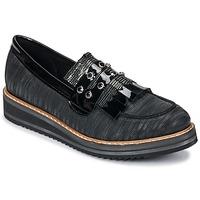 Pantofi Femei Mocasini Regard RUVOLO V1 ZIP NERO Negru