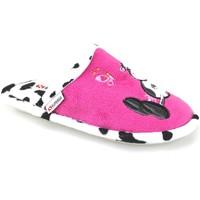 Pantofi Fete Papuci de casă Superga AJ742 Roz