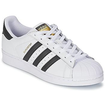 Încăltăminte Pantofi sport Casual adidas Originals SUPERSTAR Alb / Negru