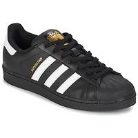 Pantofi Pantofi sport Casual adidas Originals SUPERSTAR FOUNDATIO Alb / Negru