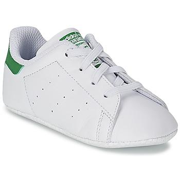 Pantofi Copii Pantofi sport Casual adidas Originals STAN SMITH CRIB Alb / Verde