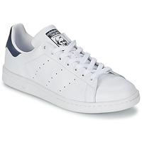 Încăltăminte Pantofi sport Casual adidas Originals STAN SMITH Alb / Albastru