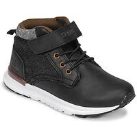 Încăltăminte Băieți Pantofi sport stil gheata Kappa TELMO EV Negru