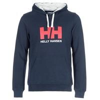 Îmbracaminte Bărbați Hanorace  Helly Hansen HH LOGO HOODIE Bleumarin