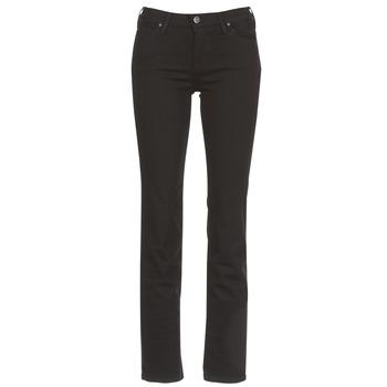 Îmbracaminte Femei Jeans drepti Lee MARION STRAIGHT Negru