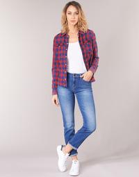 Îmbracaminte Femei Jeans drepti Lee ELLY Albastru / Medium
