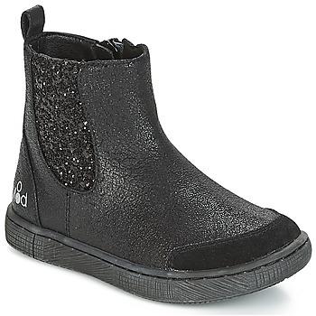 Pantofi Fete Ghete Mod'8 BLABLA Negru