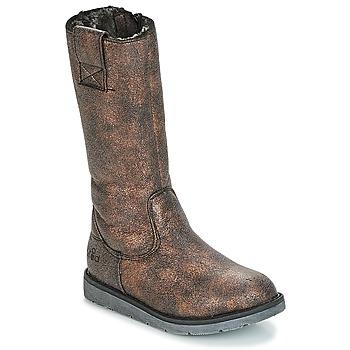 Pantofi Fete Cizme casual Mod'8 ALTANA Negru / Bronz