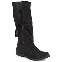 Pantofi Femei Cizme casual Papucei LUCIA Negru
