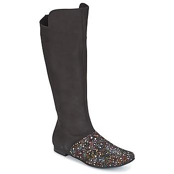 Pantofi Femei Cizme casual Papucei MALVA Negru