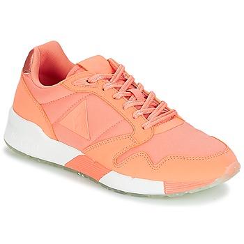 Pantofi Femei Pantofi sport Casual Le Coq Sportif OMEGA X W METALLIC Papaya / Punch