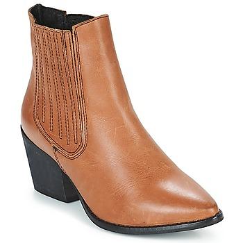 Pantofi Femei Botine Musse & Cloud BECKY Coniac