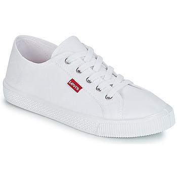 Pantofi Femei Pantofi sport Casual Levi's MALIBU BEACH S Alb