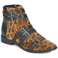 Pantofi Femei Botine Le Temps des Cerises IZY Leopard