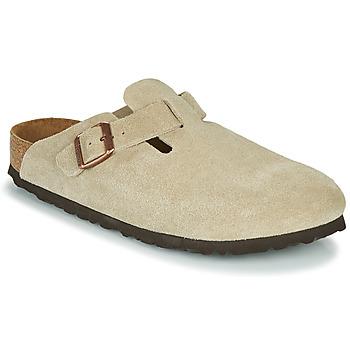 Pantofi Femei Saboti Birkenstock BOSTON SFB Taupe