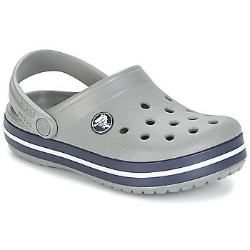 Pantofi Copii Saboti Crocs CROCBAND CLOG K Gri / Bleumarin
