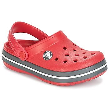 Pantofi Copii Saboti Crocs CROCBAND CLOG KIDS Roșu