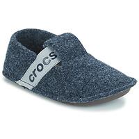 Pantofi Copii Papuci de casă Crocs CLASSIC SLIPPER K Bleumarin