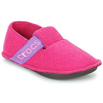 Pantofi Fete Papuci de casă Crocs CLASSIC SLIPPER K Roz