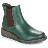 Pantofi Femei Ghete Fly London SALV Verde