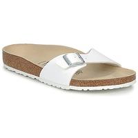Pantofi Bărbați Papuci de vară Birkenstock MADRID Alb