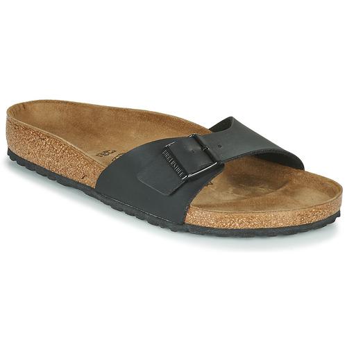Pantofi Bărbați Papuci de vară Birkenstock MADRID Negru