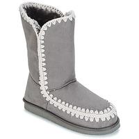 Pantofi Femei Cizme casual LPB Shoes NATHALIE Gri