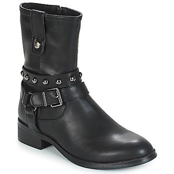 Pantofi Femei Ghete LPB Shoes LOUNA Negru