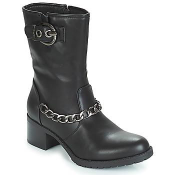 Pantofi Femei Botine LPB Shoes LOANNE Negru