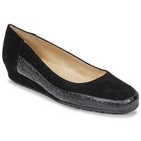 Pantofi Femei Balerin și Balerini cu curea Perlato TRASA Ferrer / Cam / Negru