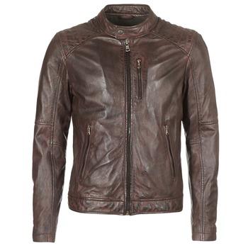 Îmbracaminte Bărbați Jachete din piele și material sintetic Oakwood AGENCY Maro