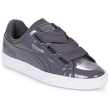 Pantofi Femei Pantofi sport Casual Puma WN BASKET HEART PATENT.IRO Iron