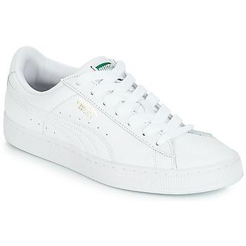 Încăltăminte Pantofi sport Casual Puma BASKET CLASSIC LFS.WHT Alb