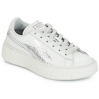 Pantofi Fete Pantofi sport Casual Puma G PS B PLATFORM BLING.GRAY Gray