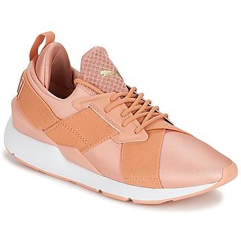 Pantofi Femei Pantofi sport Casual Puma PUMA Muse X-Strp St EP W's Coral