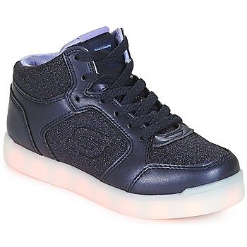 Pantofi Fete Pantofi sport stil gheata Skechers ENERGY LIGHTS Navy