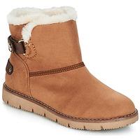 Pantofi Femei Ghete Tom Tailor SIDYA Camel