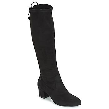 Încăltăminte Femei Cizme lungi peste genunchi Tamaris PEDAS Negru