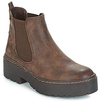 Pantofi Femei Ghete Refresh SOBAO Maro