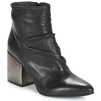 Pantofi Femei Botine Now BOLOGNA Negru