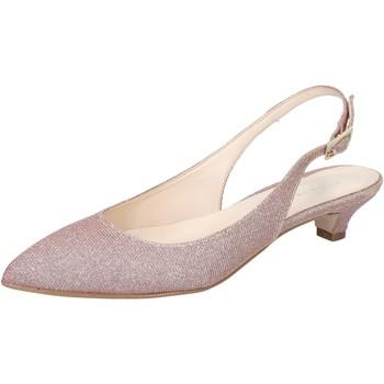 Pantofi Femei Sandale  Olga Rubini sandali rosa tessuto BY275 Rosa