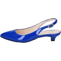 Pantofi Femei Sandale  Olga Rubini sandali blu vernice BY278 Blu