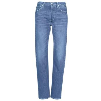 Îmbracaminte Femei Jeans boyfriend Replay ALEXIS Albastru / 009