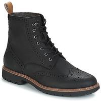 Pantofi Bărbați Ghete Clarks BATCOMBE LORD Negru