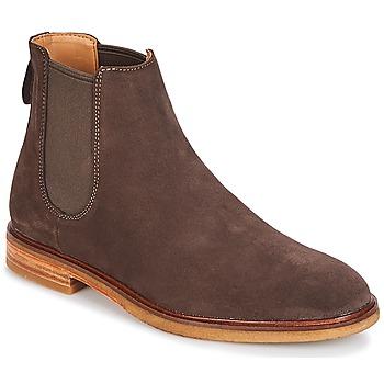 Pantofi Bărbați Ghete Clarks Clarkdale Gobi Dark / Brown / Suede