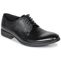 Încăltăminte Bărbați Pantofi Derby Clarks GILMORE Black / Leather